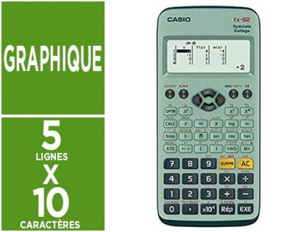 calculatrice fx 92+