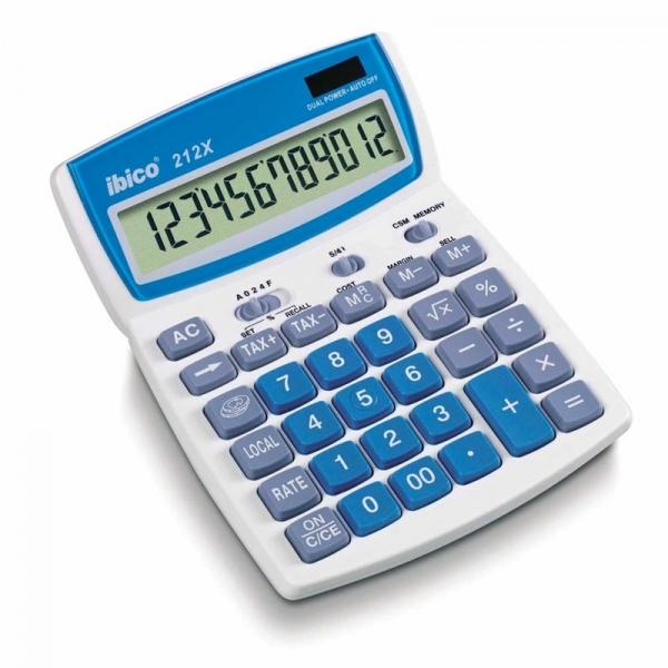 Calculatrice de bureau Ibico 212